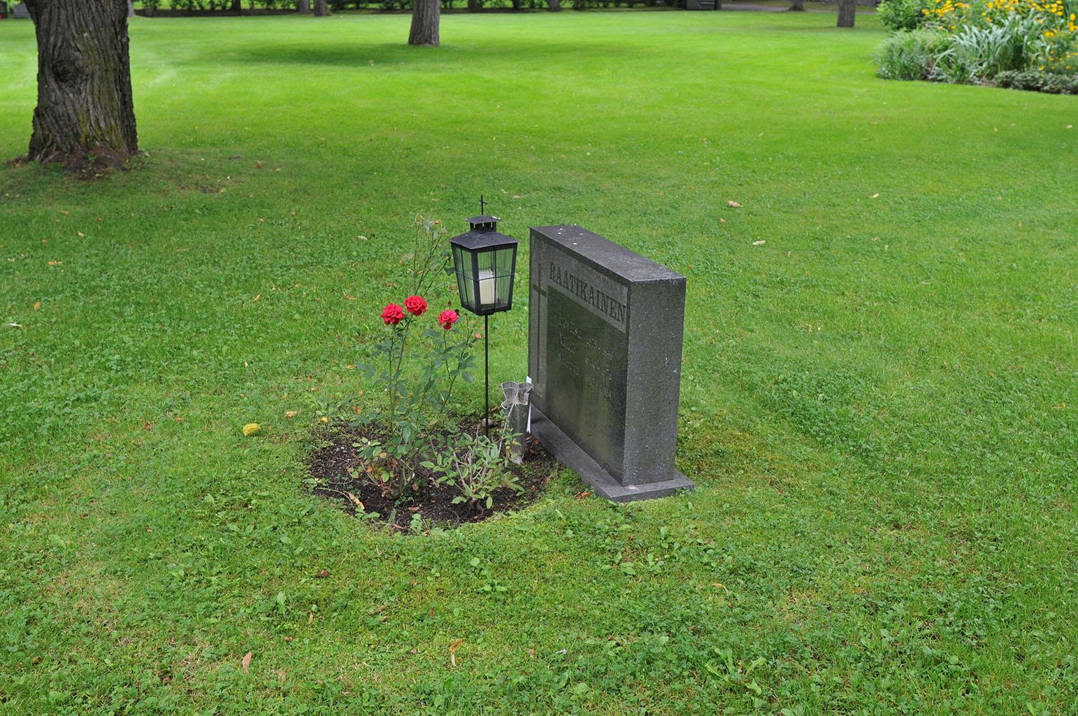 フィンランドのトゥルクの墓地